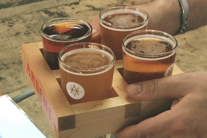 Ardent Craft Ales Flight