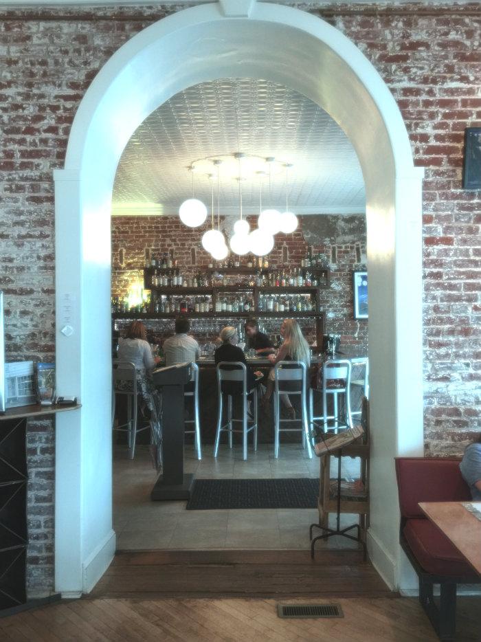 Bar entry at Kybecca.