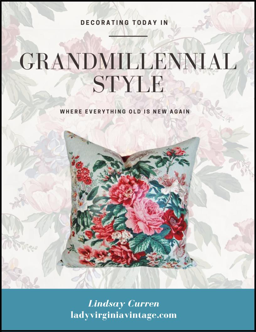 Grandmillennial Style Guide